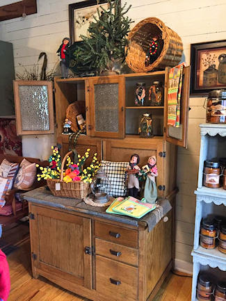 The Country Cupboard &